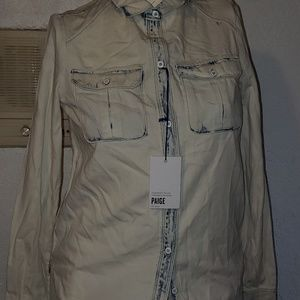 Nwt Paige Button Down Shirt XS